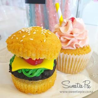 Hamburger & Strawberry Milkshake Anyone?