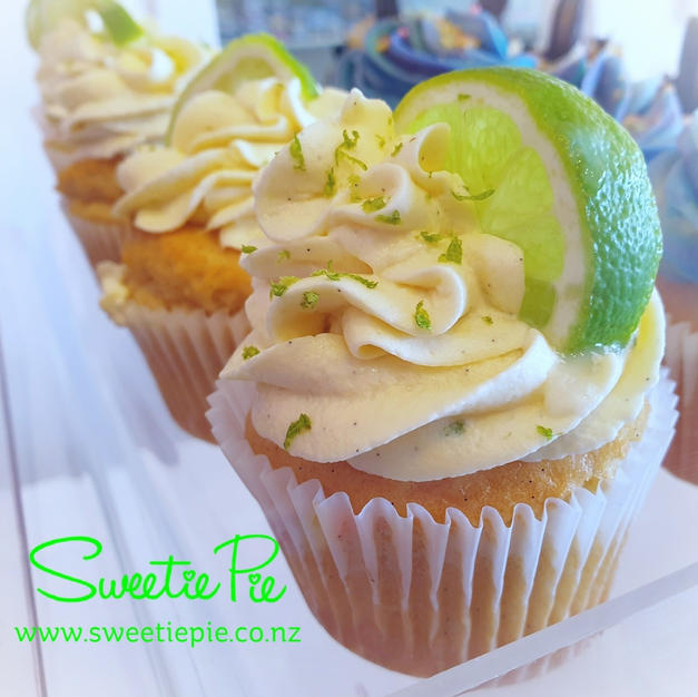 Fresh Key Lime Cupcakes