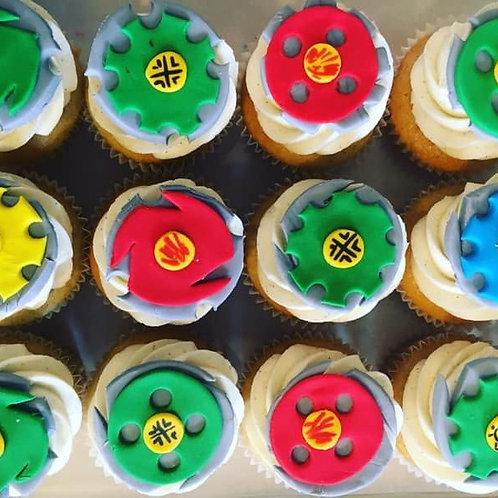 Beyblade Theme Cupcakes