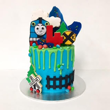 Kids Character Drip Cakes
