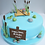 Thumbnail: Fishing Theme Birthday Cake