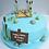 Thumbnail: Fishing Theme Birthday Cake