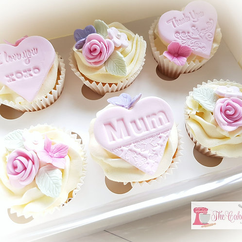 6 Mothers Day Cupcakes
