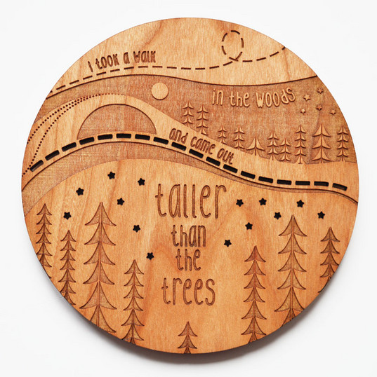 Taller Than The Trees Coaster