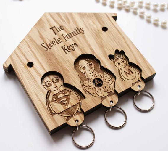 Custom Family Key Holder