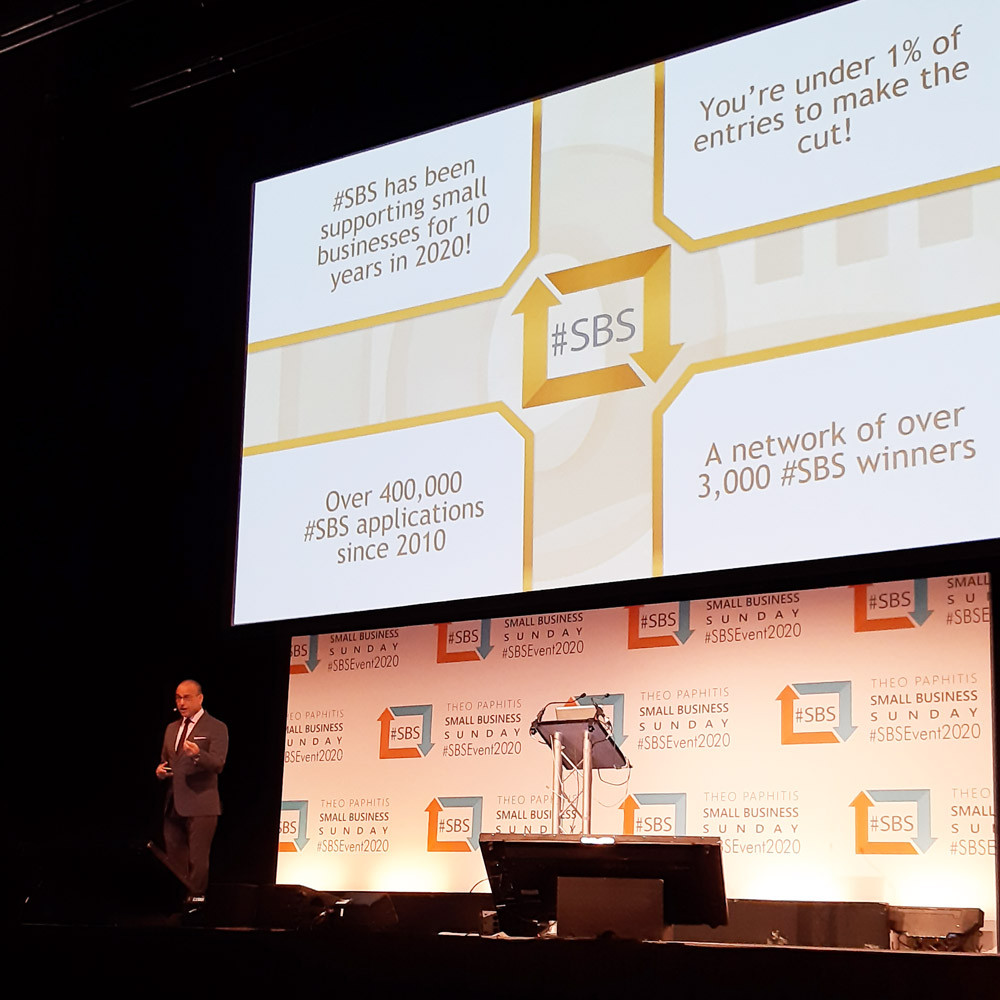 #SBS stats from Theo Paphitis