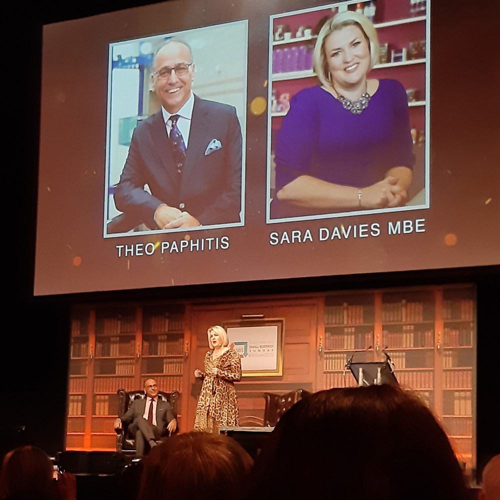 Sara Davies at the #SBS Event 2020