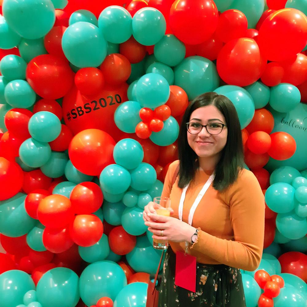 #SBS Event 2020 Balloon Wall. Treetop Treasures