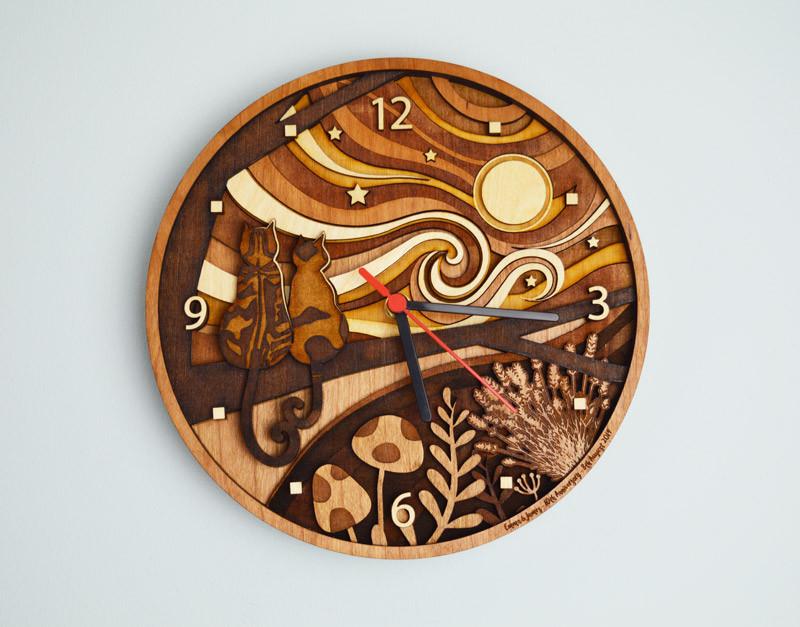 Cat Clock