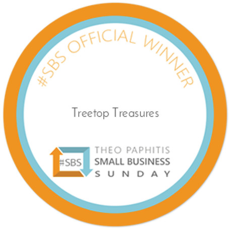 Treetop Treasures wins #SBS award from Theo Paphitis!