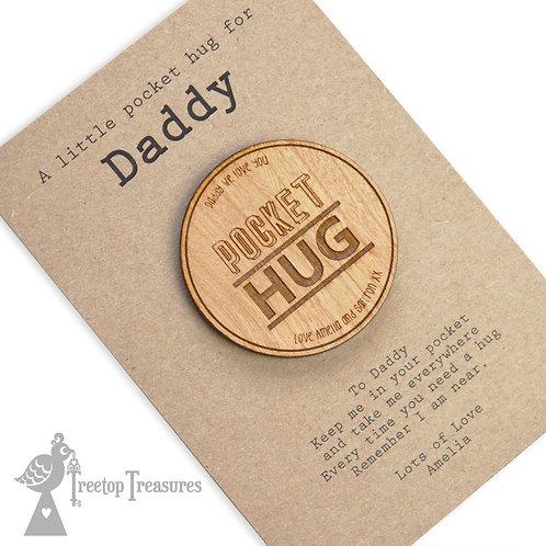 Personalised Pocket Hug Token