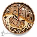 Personalised Layered Woodland Clock