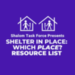 Shelter in Place_ which place_ rESOURCE