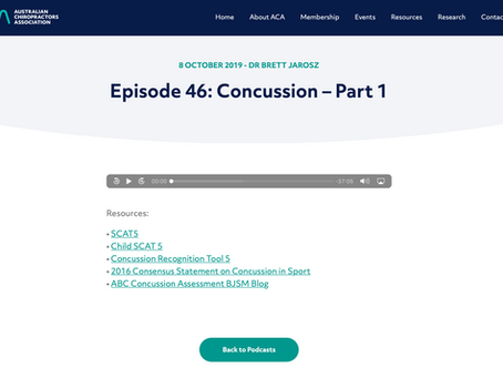 Concussion Podcasts