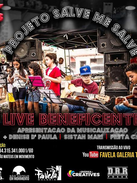 A live do canal Favela Galeria Tv