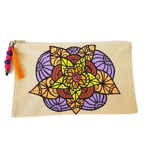 Estuche multiuso Mandala Lila (sin fuelle)