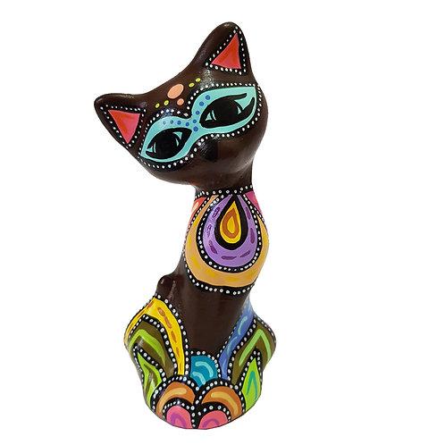 Gato decorativo (Café)