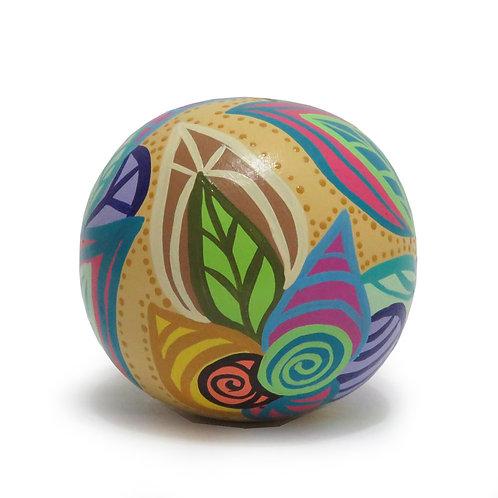 Esfera decorativa (Ocre)