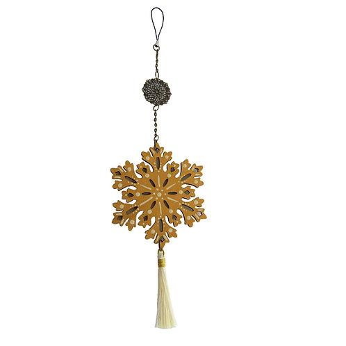 Colgante móvil mandala  Flor (color Dorado)