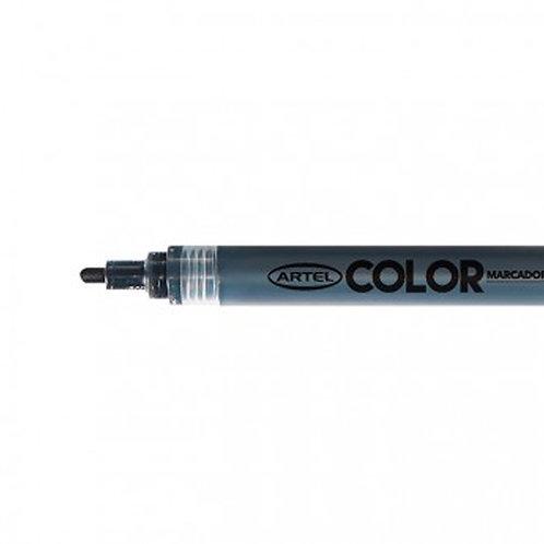 Marcador Acrílico Artel, punta 2mm ( Negro)