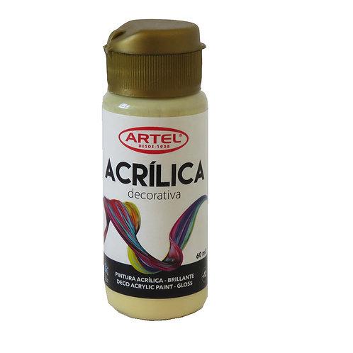 Pintura Acrílica Artel 60ml ( Melocotón Pastel Nº304)