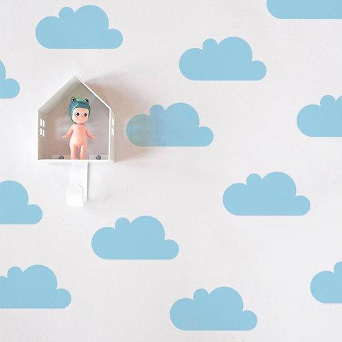 Nube Azul, vinilo deco muro