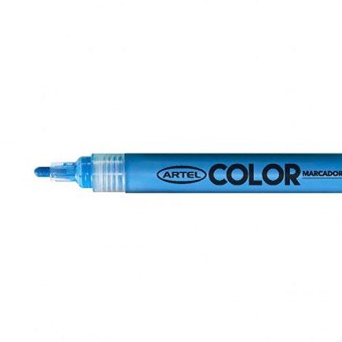 Marcador Acrílico Artel, punta 2mm ( Azul)