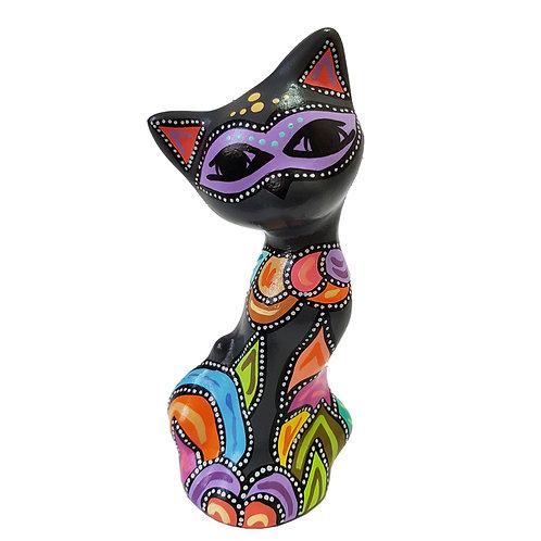 Gato decorativo ( Gris oscuro)