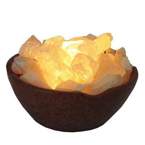 Lámpara de Cuarzo blanco