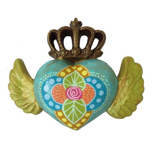 Corazón Alado corona, calipso