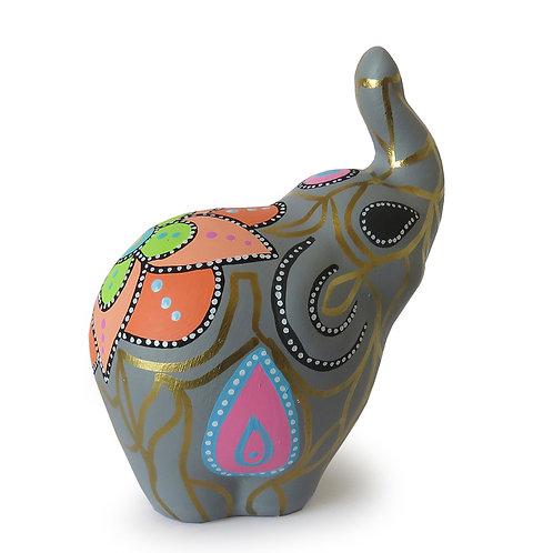Elefante decorativo, Gris (mediano)