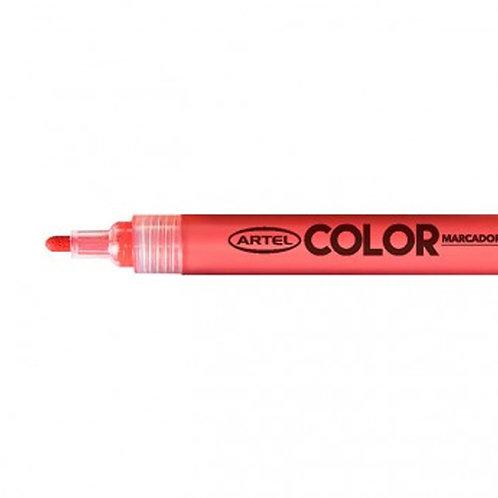 Marcador Acrílico Artel, punta 2mm (Rojo)