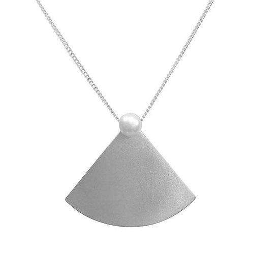Pearl Fan Necklace