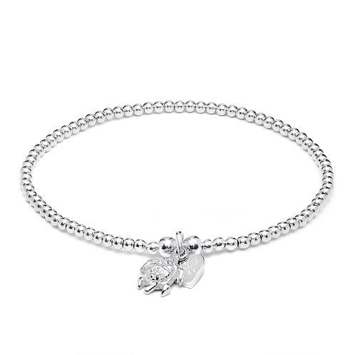 Santeenie Silver Bracelet-Turtle