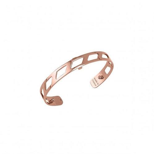 Les Georgettes Ruban Rose Gold Bracelet/Bangle - 8mm