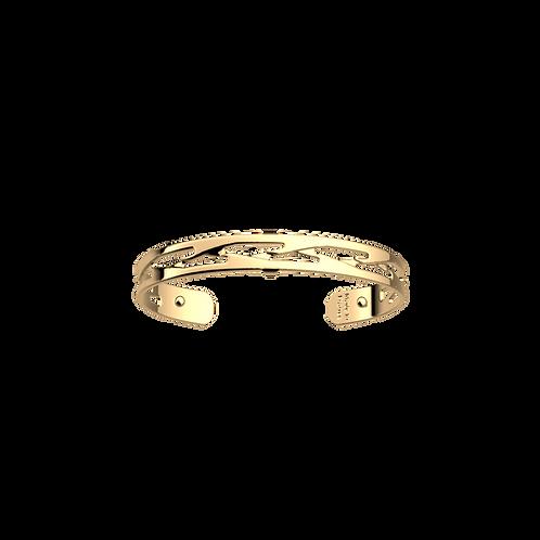Les Georgettes Tresse Gold Bracelet/Bangle - 8mm