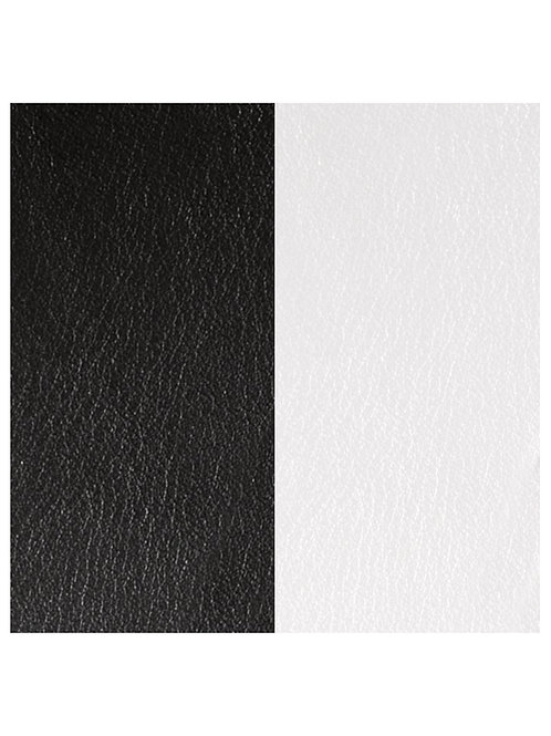 Les Georgettes Black/White - 25mm leather insert
