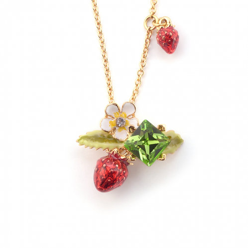 Wild Strawberry Pendant