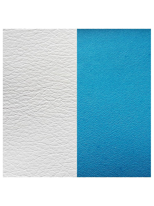 Les Georgettes White / Turquoise - 25mm leather insert