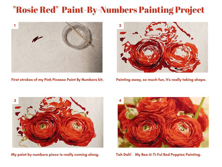 Looking for a fun project? Try Adult Paint-By-Numbers.