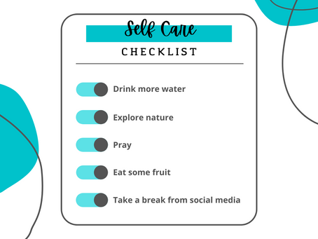 Self-Care Suggestions & Ideas