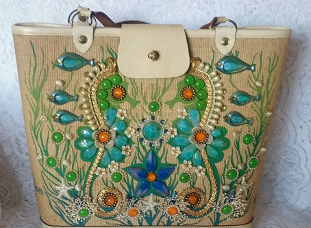 Do You Remember These Glitzy  handbags from the 60's & 70's?
