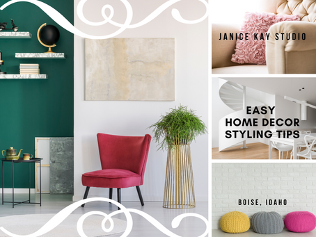 5 Easy Home Decor Styling Tips