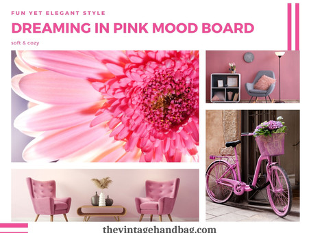 Dreaming In Pink Mood Board Decor Ideas!