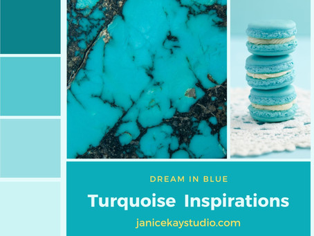 For The Love of the color Turquoise!