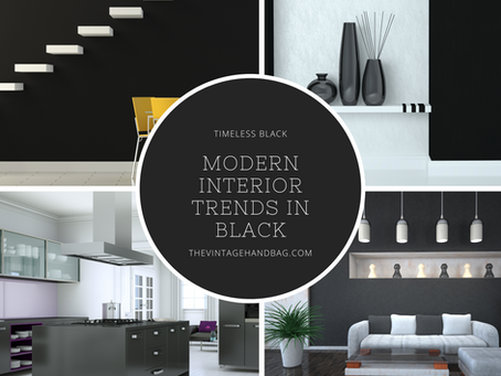 Easy Ways To Add The Bold Color Black To Your Home!