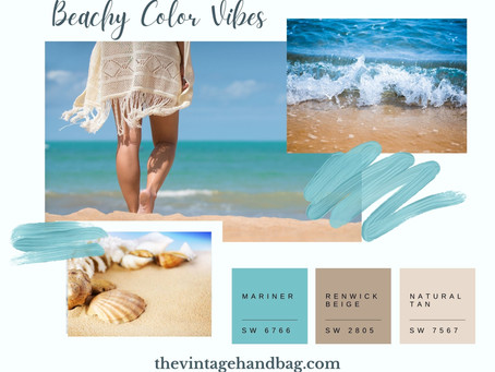 Beachy Vibes Paint Color Palettes To Try!