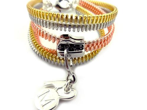 Zip Me Up - Midi Tri Bracelets
