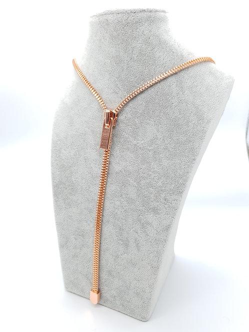 Zip Me Up, Zip Necklace - Plain Charm / Puller Necklace