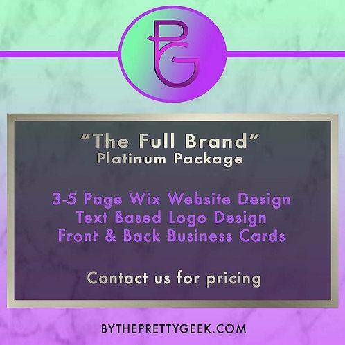 The Full Brand - Platinum Package